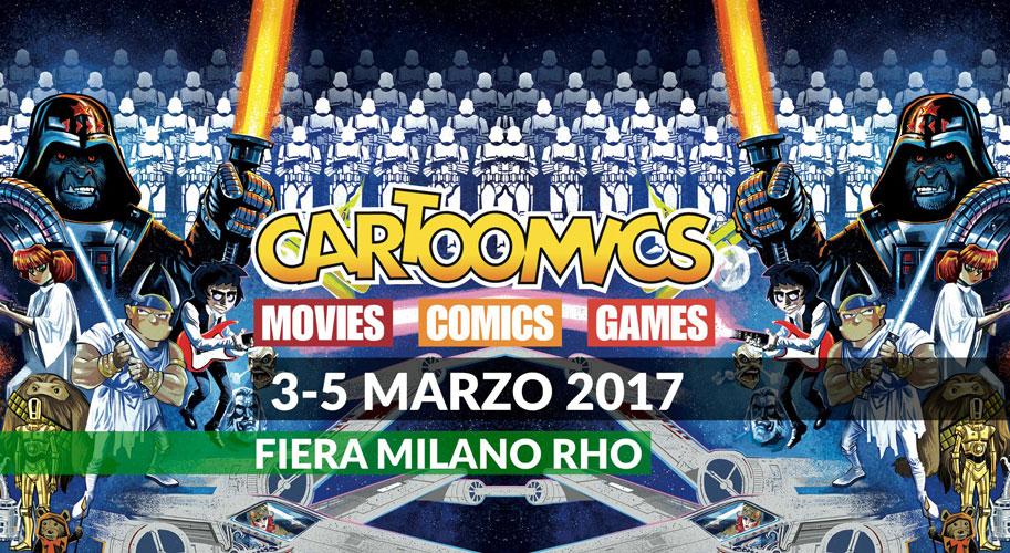 Evento ludico cartoomics 2017 for Eventi fiera milano