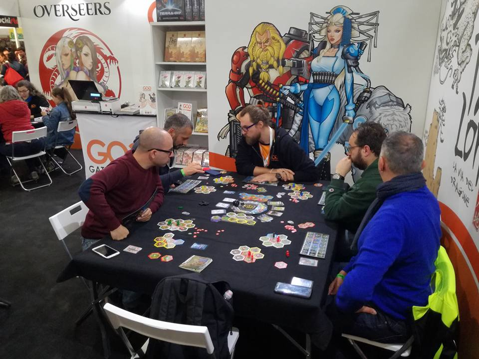 GateOnGames Lucca Comics & Games 2017