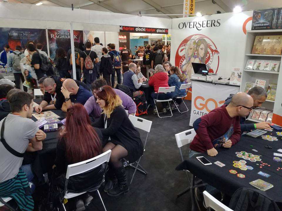 ThunderGryph Games Lucca Comics & Games 2017