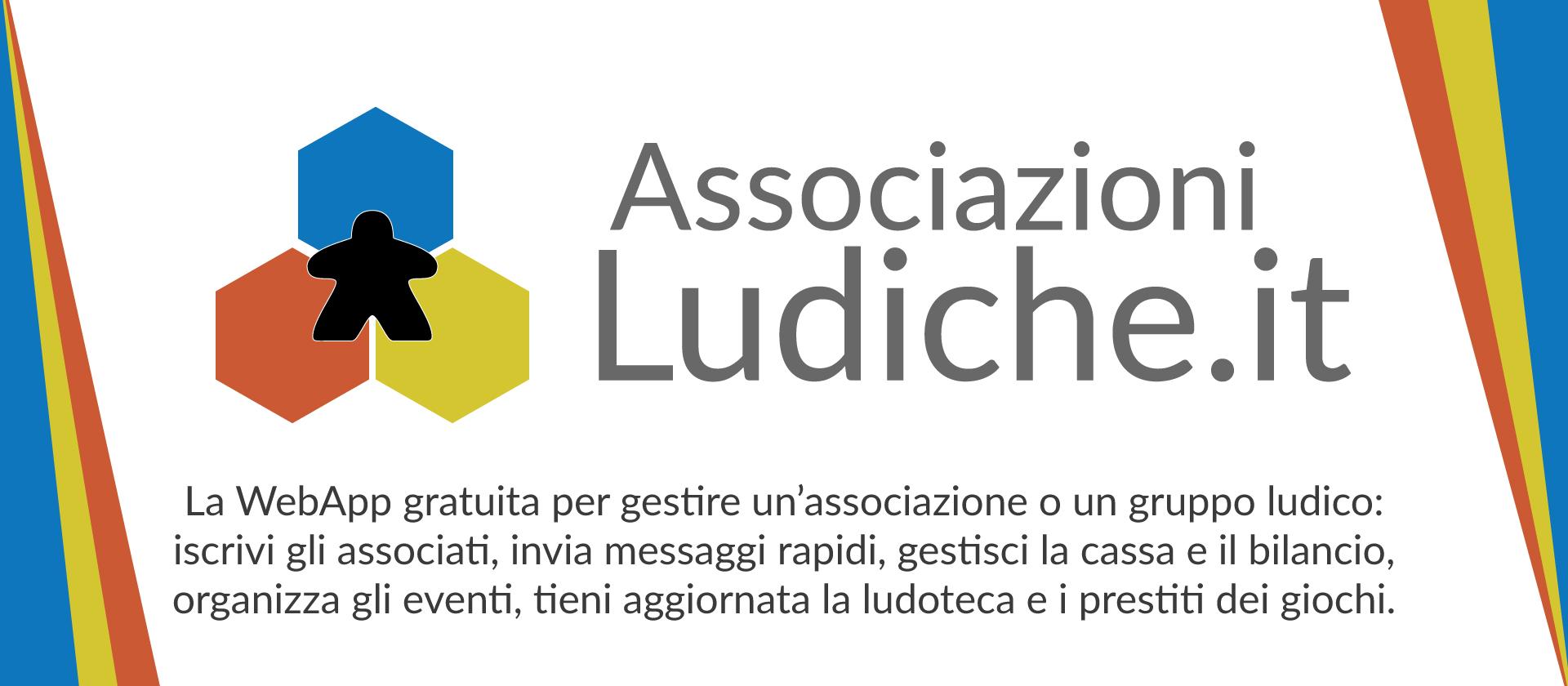 AssociazioniLudiche.it - La WebApp per le associazioni ludiche