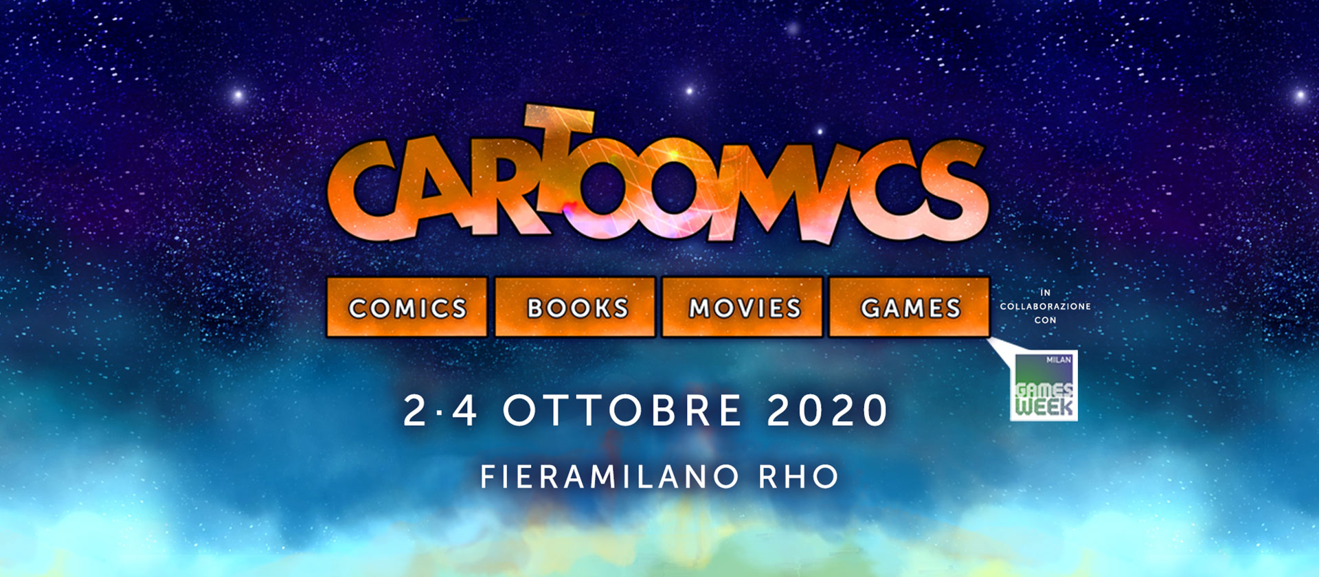 Cartoomics 2020 Milano